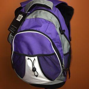 Purple Backpack NWT